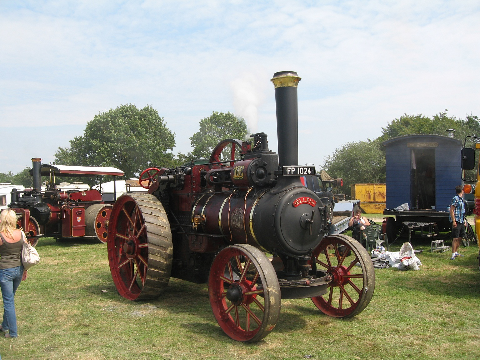 Steam rally 28th july celebrity